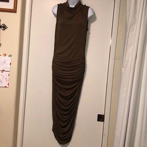 Supertrash Darlene dress, Medium, Olive, Pristine